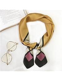 c3725e0471c TIANLU Design élégant et stylé Petit Carré Carré petits foulards foulard  soie décoré dans un soleil