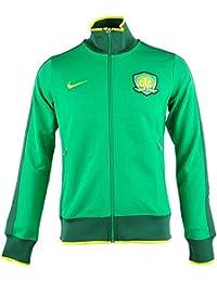 Nike - Chaqueta de chándal para Hombre, Color Verde - 546255 383-XXL,
