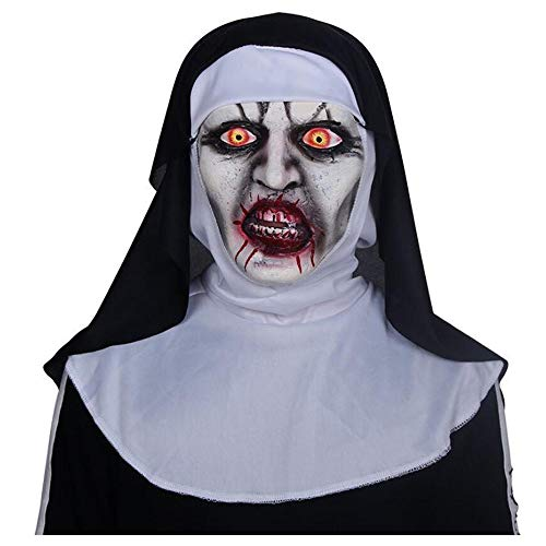xmaske Kopfbedeckung Party Ball Schwestern Horror Dead Ghost Mask Dress Up Requisiten ()