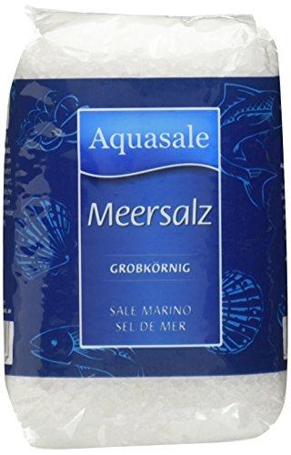 feines meersalz Aquasale 11232 Meersalz, grobkörnig, 1kg-Beutel