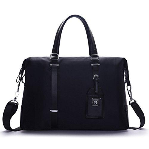 Männer Handtaschen Herren Oxford Tuch Schultertasche Diagonal Paket Business Document Computer Tasche Black