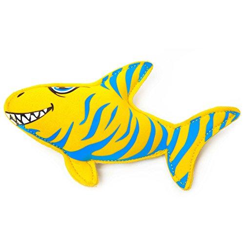 Giocattoli acquatici di neoprene riempiti di sabbia, ideali per aiutare i bambini a nuotare e a immergersi in acqua. Il giocattolo acquatico è adatto per il bagno, per nuotare, al lago o al mare. I design possibili : squalo