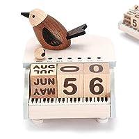 YuLinStyle Wooden music box piano bird perpetual calendar music box girl child birthday Beautiful home Decorations