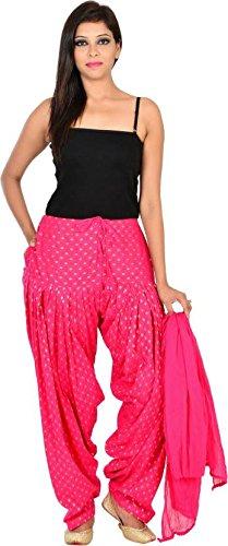 JAIPUR FASHION HUB Women's readymade Bottom (Dollar Booti) Cotton Full Patiala Salwar...