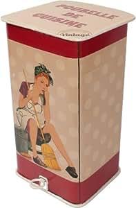 Antic Line - Poubelle vintage années 50