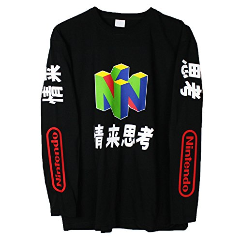 N64 Long Sleeve T Shirt (Medium) -