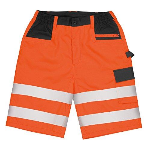 Preisvergleich Produktbild Ergebnis Core Safety Cargo Hi Visibility Work Shorts - Gelb Oder O - Orange - XS