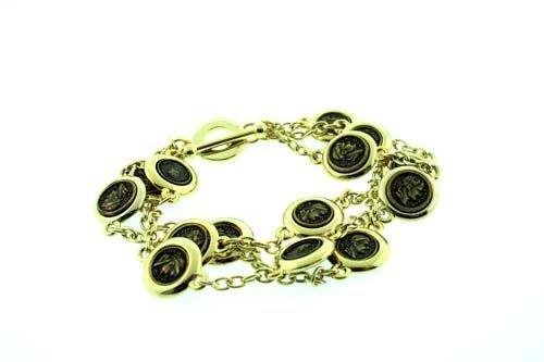 world-collana-da-donna-in-argento-a-3-fili-placcato-in-oro-stile-braccialetto-con-monete