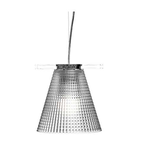 Kartell Light-Air Lampada a Sospensione, Cristallo
