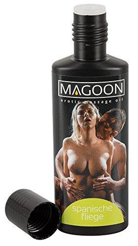 Magoon Massageöl Spanische Fliege 100 ml - aphrodisierendes Massage-Öl für sie und ihn, Qualitäts-Öl mit Gleitfähigkeit, leichtes einführen