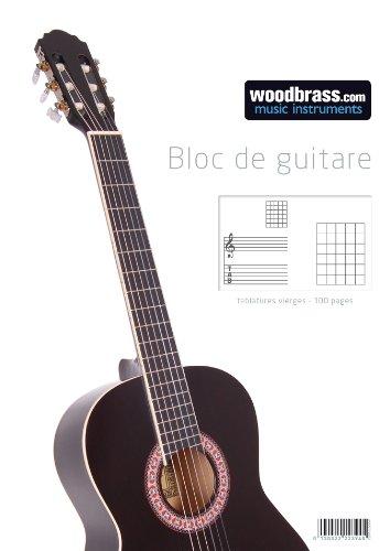 WOODBRASS BLOCK GITARRENTABULATUR Musikbücher, Notenpapier, Dvds.. Musikblock