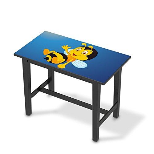 creatisto Jugendzimmer Accessoires für IKEA Stornäs Bartisch 127x70 cm | Möbel-Tattoo Dekoaufkleber | Ideen für IKEA Möbelfolie Kinder-Zimmer Innendeko | Kids Kinder Bee