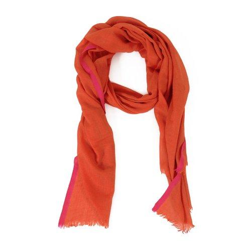 HINZE (SH110) Sciarpa in seta/lana, sciarpa donne