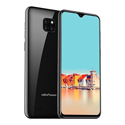 Ulefone Note 7 (2019) Smartphone ohne Vertrag Triple Kameras 3  Kartensteckplatz, 6 1 Zoll Bildschirm, 16 GB ROM Dual SIM Android 8 1 Handy  Günstige,