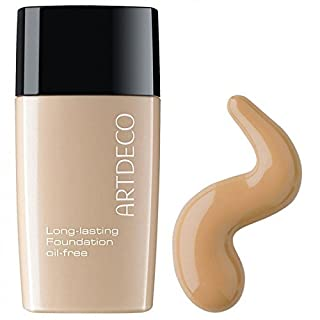 Artdeco Make-Up femme/woman, Long-lasting Foundation Oil-free Nummer 25 Light cognac, 1er Pack (1 x 30 ml)