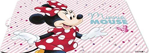Almacenesadan tovaglia individuale disney 2013 minnie mouse; prodotto di plastica; bpa gratuito; dimensioni 43x29 cm