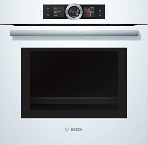 Bosch HNG6764W6 Serie 8 Backofen Elektro / A / 67 L / Pyrolyse-Selbstreinigung / PerfectRoast & PerfectBake / weiß