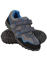 Mountain Warehouse Zapatillas Mars para niños - Zapatillas Ligeras, Zapatillas cómodas de Verano, Zapatillas de montaña con Tiras de Cierre de Gancho y Lazo para niños