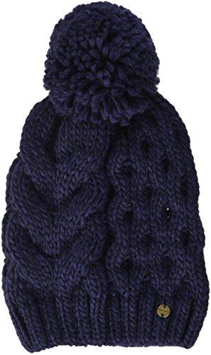 ESPRIT Accessoires Damen 107EA1P004 Strickmütze, Blau (Navy 400), One Size