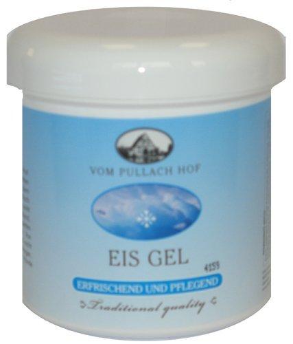 Eis Schmerzlinderung Gel (4x Eis Gel - erfrischend und pflegend 250ml)