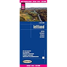 Reise Know-How Landkarte Lettland (1:325.000): world mapping project