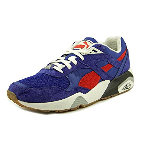 Puma R698 ATHL Synthétique Chaussure de Course surf the web-high risk red