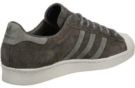 Adidas Sneaker Men SUPERSTAR 80S S75848 Braun, Schuhgröße:43 1/3 - 4