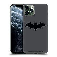 Head Case Designs Officiel Batman DC Comics Hush Logos Coque Dure pour l'arrière Compatible avec Apple iPhone 11 Pro