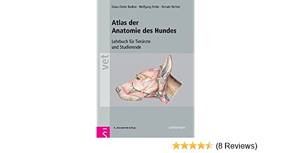 Atlas der Anatomie des Hundes: Lehrbuch für Tierärzte und ...