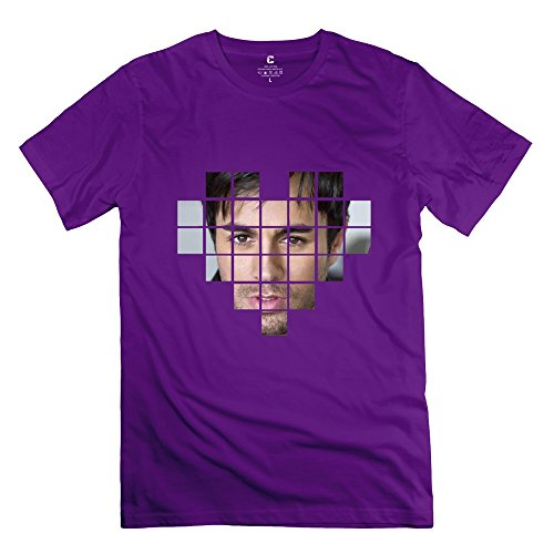 Herren's Enrique Iglesias T-Shirt