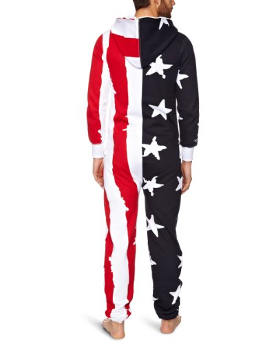 Onepiece Unisex Jumpsuit Stars And Stripes Navy/White/Red