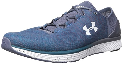 Under Armour Herren Ua Charged Bandit 3 Laufschuhe, Mehrfarbig (Green Bayou Blue), 45.5 EU