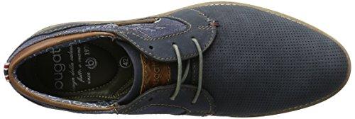 bugatti Herren 311111141500 Derby Blau (dark blue 4100)