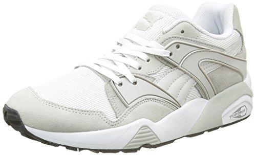 Puma Blaze Classic, Baskets Basses Mixte Adulte Gris (Glacier Gray/White)