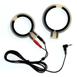 RIMBA Elektro Silikon Cockringe, bi polair, rund