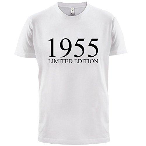 1955 Limierte Auflage / Limited Edition - 62. Geburtstag - Herren T-Shirt - 13 Farben Weiß