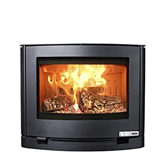 Burning stove Aduro 15-3 Steel black wall-mounted 6,5 kW