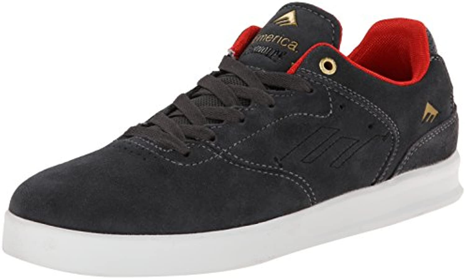 Emerica Shoe THE REYNOLDS LOW dgry  dark grey 8frac12