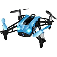 Price comparsion for toyent tg1808Mini Foldable 2.4GHz 6Axis Gyro Quadcopter Drone FPV WiFi RC Hélicoptère-bleu VR