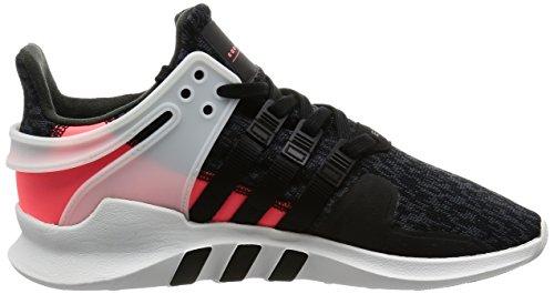 adidas Equipment Support ADV, Scarpe da Ginnastica Basse Donna core black-core black-turbo