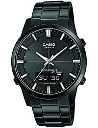 Casio Herren-Armbanduhr XL Wave Ceptor Analog - Digital Quarz Edelstahl LCW-M170DB-1AER