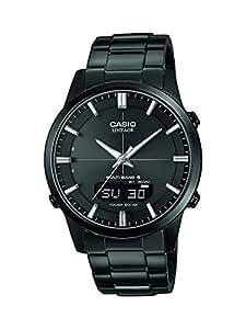 casio wave ceptor montre homme analogique digitale quartz avec bracelet en acier inoxydable. Black Bedroom Furniture Sets. Home Design Ideas