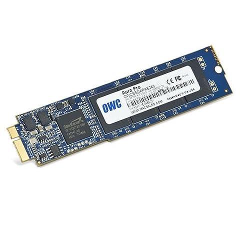 OWC Aura 120GB 120GB–Solid State Drives (blau, MLC, 128-bit AES, 0–70°C,-40–85°C, MacBook (Macbook Air Ssd)