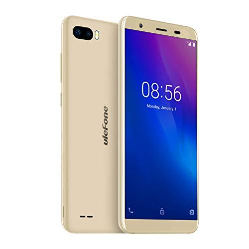 Ulefone S1 - Smartphone Libre 3G, Doble SIM, Android Go, Pantalla 5.5'' 18:9, QuadCore, 1GB+8GB, Desbloqueo Facial,...