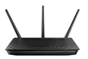 ASUS 900 Mbps Dual Band Wireless N Router - Black