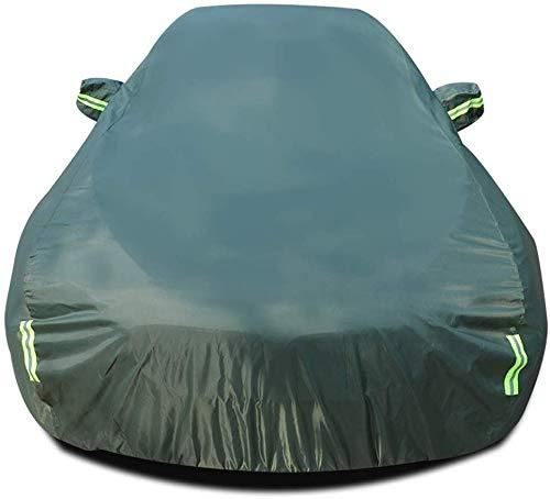 ZGYQGOO Autoabdeckung Kompatibel Mit Porsche 911 Allwetter Regen Sonnenschutz Schneesicher Staubdicht Wasserdicht Outdoor Indoor Car Protector (Farbe: Grün)