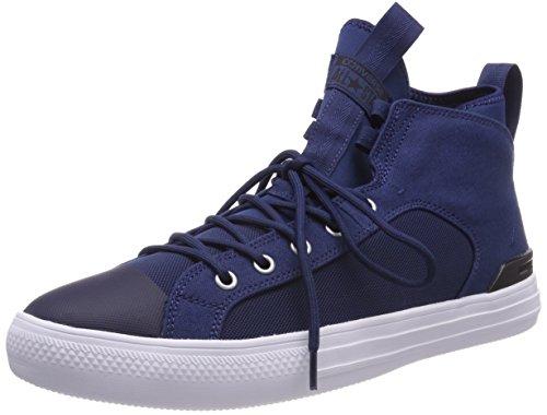 Converse Unisex-Erwachsene CTAS Ultra MID Navy/Black/White Hohe Sneaker, Blau, 42 EU (Mid Converse)