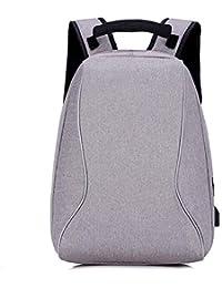 Mochila portátil Mochila de negocios para 15.6 pulgadas Mochila escolar portátil con puerto de carga USB para el…