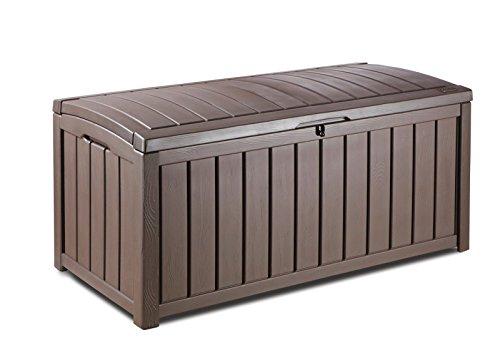 Kapazität Cd-ablage (Glenwood Kunststoff Deck Container Box Outdoor Terrasse)