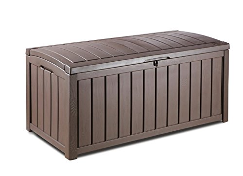 Glenwood Kunststoff Deck Container Box Outdoor Terrasse (Record Storage Rack)